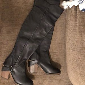 Free People Thigh Boots